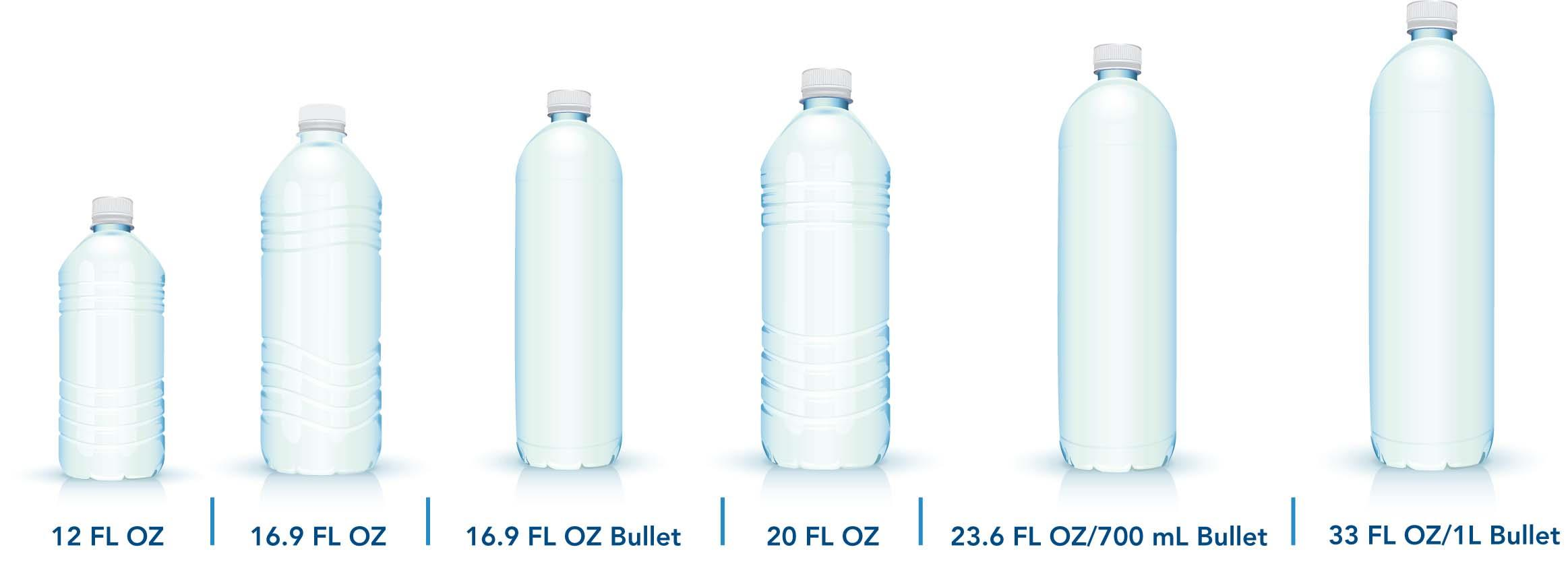 Some of our popular bottle sizes